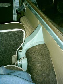 Innenverkleidung Trabant 601 Universal ab Juli 1969